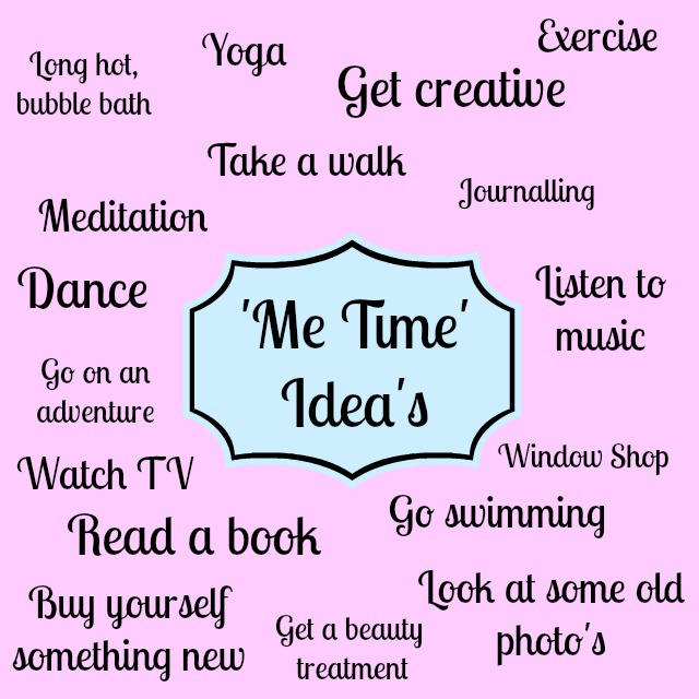 Me Time Ideas