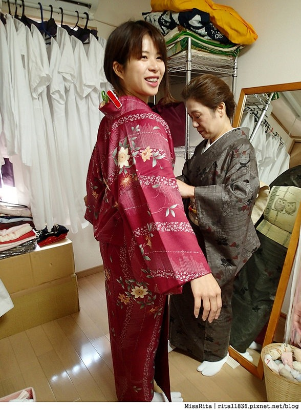 日本東京 東京和服體驗 淺草和服 淺草七變化 淺草七變化預約教學11