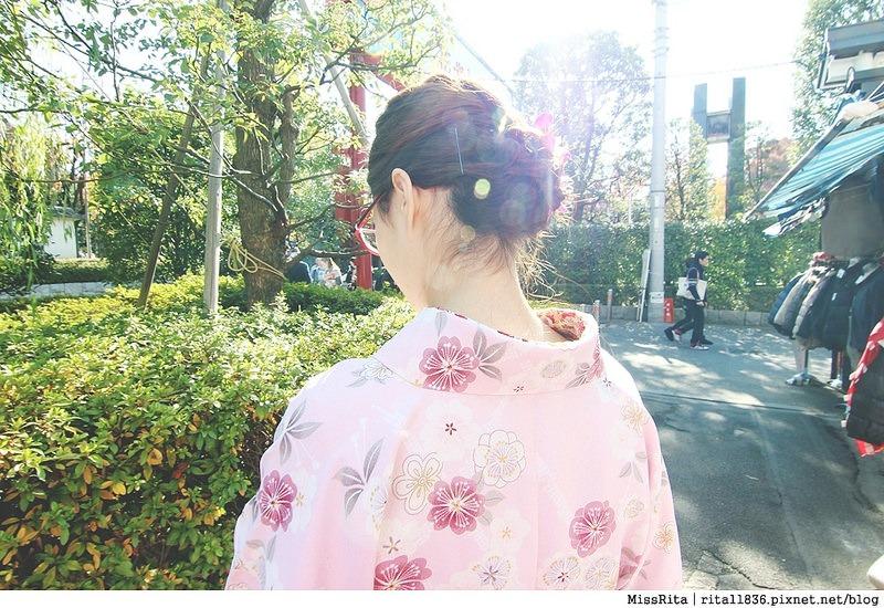 日本東京 東京和服體驗 淺草和服 淺草七變化 淺草七變化預約教學20