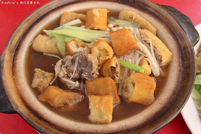 馬來西亞美食 馬六甲美食 肉骨茶 喜德潮州肉骨茶館0