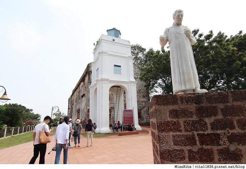 馬來西亞 麻六甲 馬六甲景點 荷蘭紅屋廣場 聖保羅堂St. Paul's Church 馬六甲蘇丹王朝水車 海上博物館12