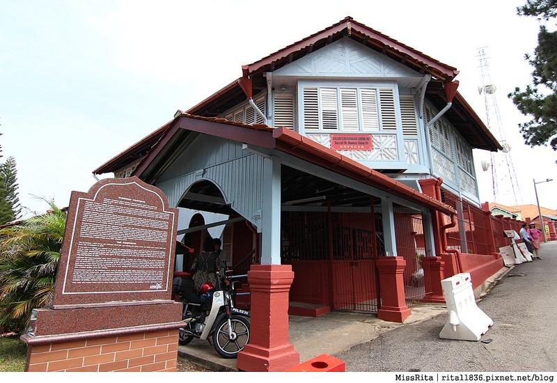 馬來西亞 麻六甲 馬六甲景點 荷蘭紅屋廣場 聖保羅堂St. Paul's Church 馬六甲蘇丹王朝水車 海上博物館6