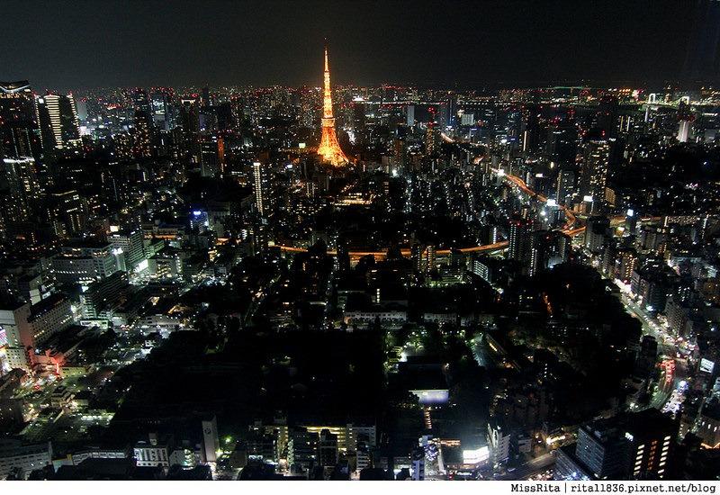 日本東京 東京夜景 六本木之丘 六本木Hills 六本木夜景 Tokyo city view 六本木大道 東京聖誕點燈 2014東京點燈3