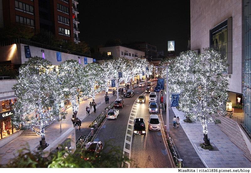 日本東京 東京夜景 六本木之丘 六本木Hills 六本木夜景 Tokyo city view 六本木大道 東京聖誕點燈 2014東京點燈11