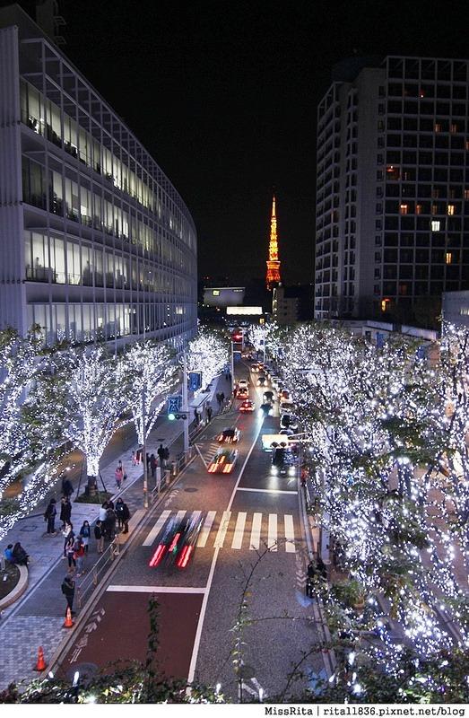 日本東京 東京夜景 六本木之丘 六本木Hills 六本木夜景 Tokyo city view 六本木大道 東京聖誕點燈 2014東京點燈15