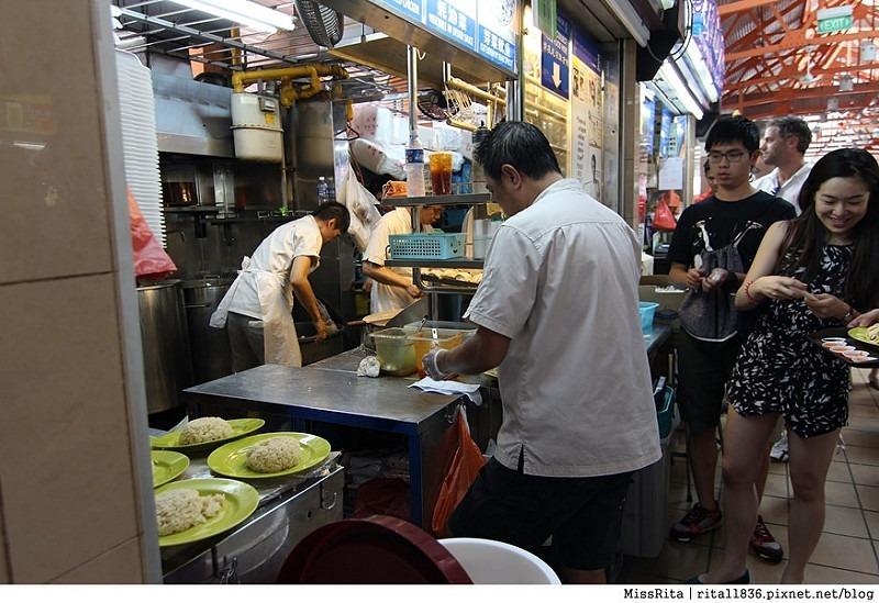 新加坡好吃 新加坡海南雞飯 天天海南雞飯 麥士威熟食中心 maxwell food centre Singapore hainan chicken rice 興興海南雞飯2