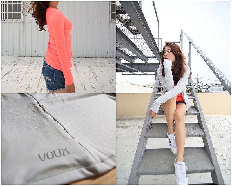 VOUX Active VOUX機能衣 防曬外套 夏日防曬衣 快乾衣 VOUX機能運動服 機能運動服 路跑衣服0
