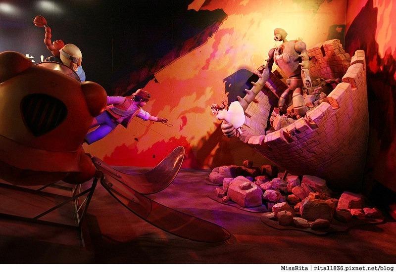 2016華山藝文 吉卜力的動畫世界特展 華山1914 吉卜力特展 吉卜力號碼牌 吉卜力購票 吉卜力台北 華山文創園區 2016暑假展覽 台北展覽32