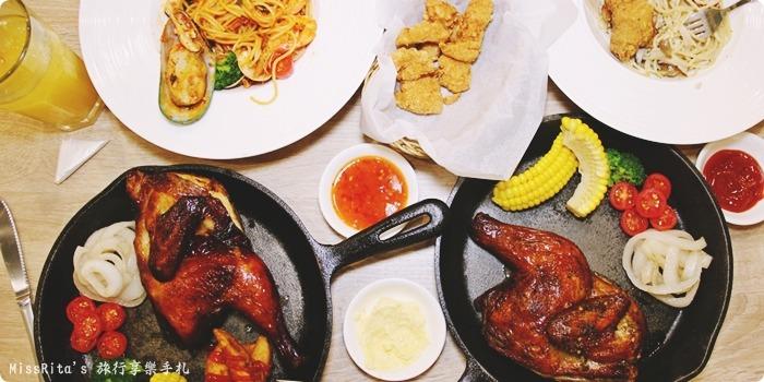 台中美式 台中好吃 太平好吃 克拉格烤雞 cluckroastchicken 台中烤雞 台中義大利麵 台中推薦美食0-