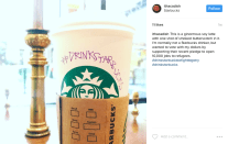 Supporters of Starbucks' promise to hire 10,000 refugees use the hashtag #DrinkStarbucksToFIghtBigotry.