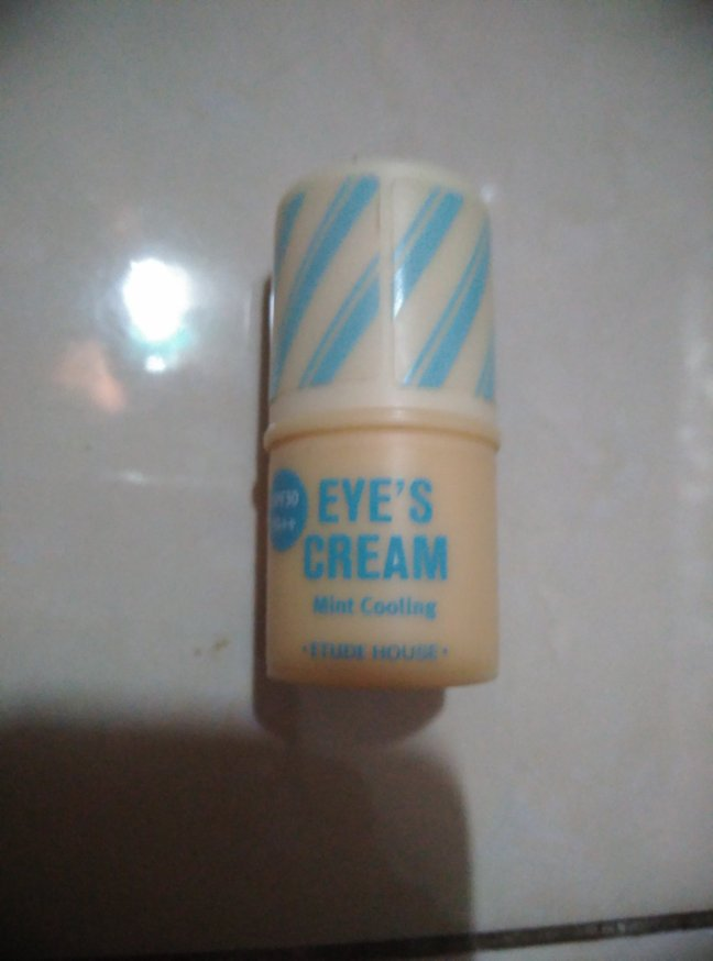 Eye cream. The price is about USD 30, but it doesn't work