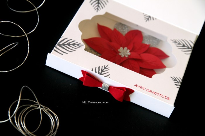 carte Poinsettia 4