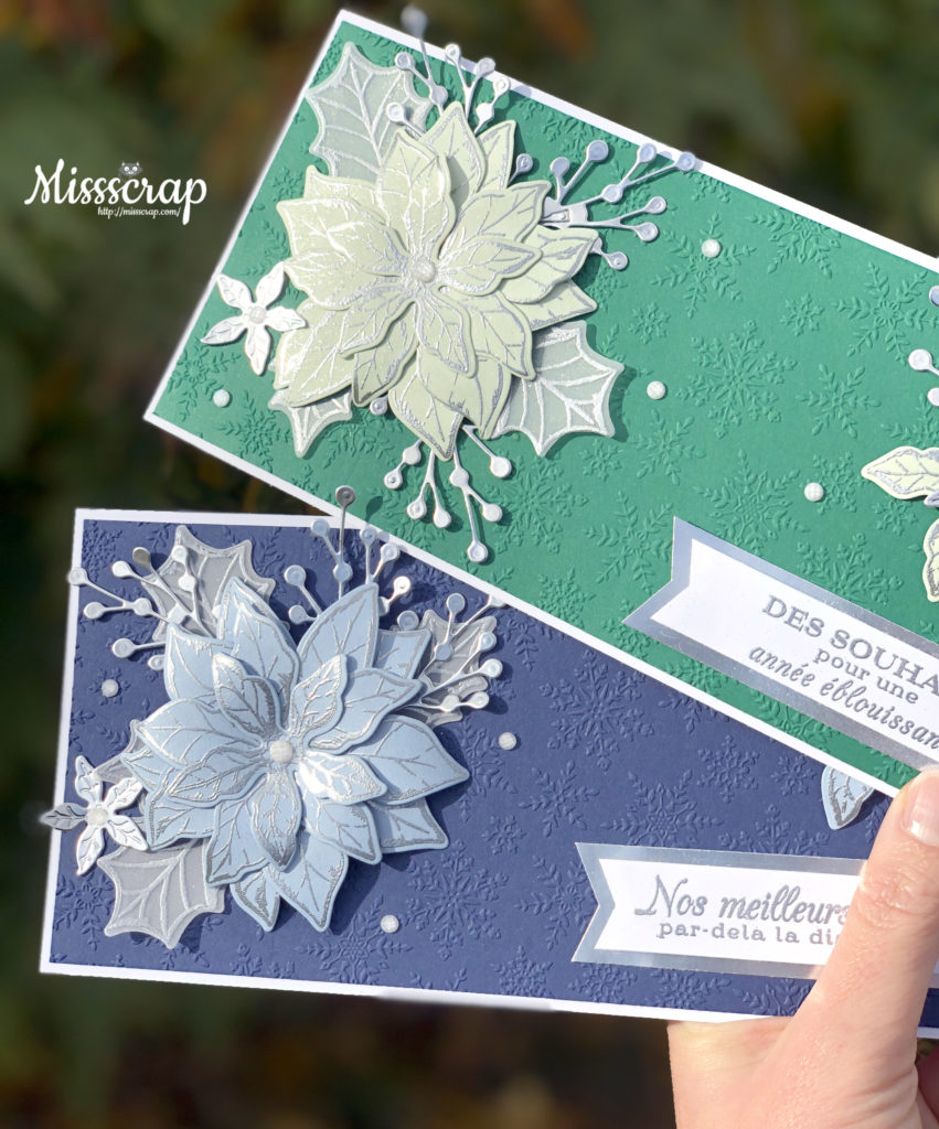 slime card poinsettia