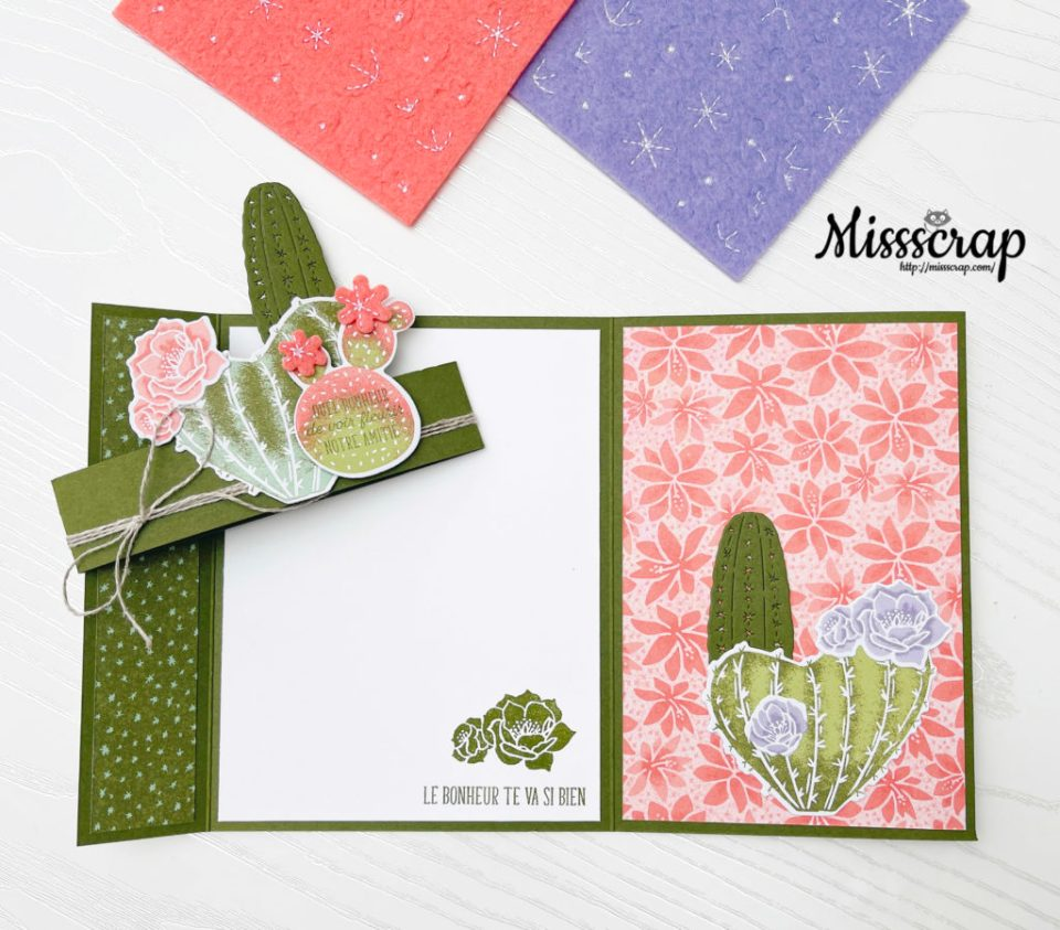 Fun folds 2 panels card