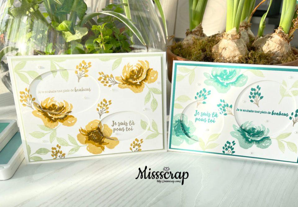 Cartes florales