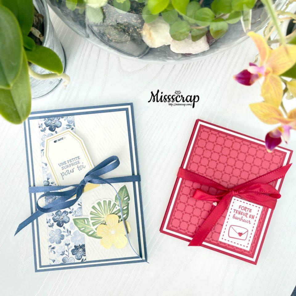 mini album enveloppes