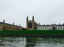 Kings College from the river Cam.
