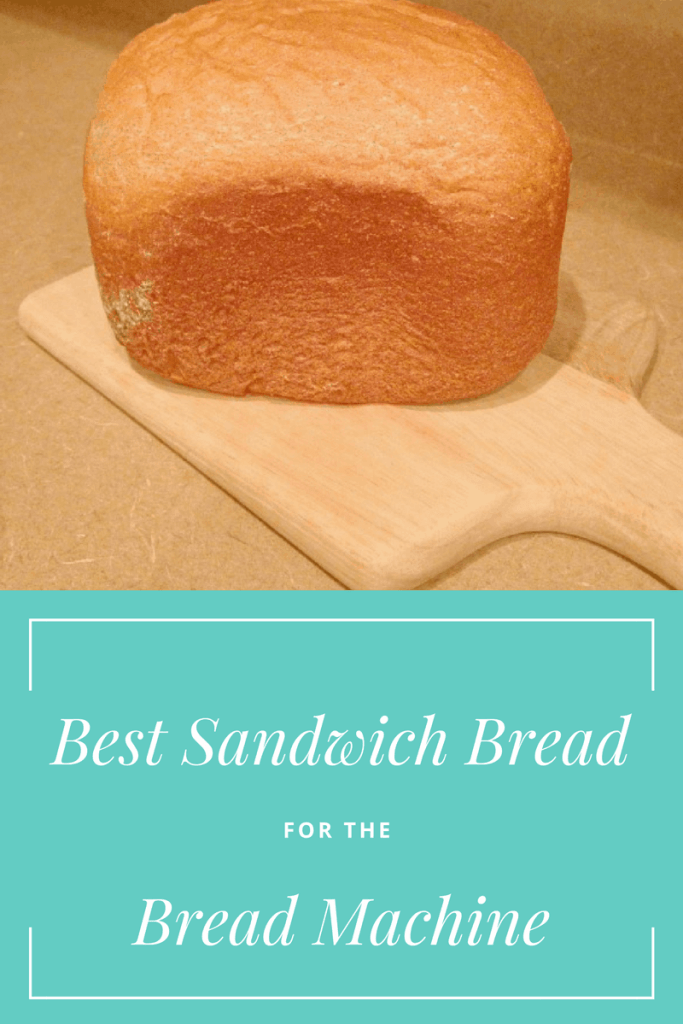 Best sandwich bread for the bread machine with only 6 ingredients!