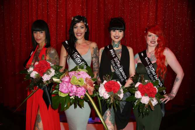Palmares Miss Tattoo France 2018