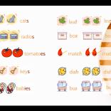 Irregular plural nouns - неправилните форми на съществителните имена в множествено число