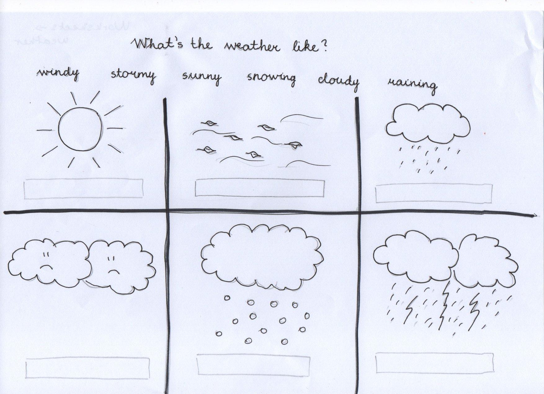 Weather Preschool Amp Kindergarten