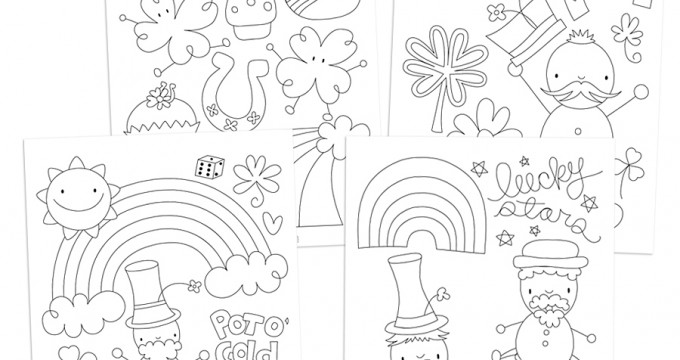 Macaron Pages Coloring Pages
