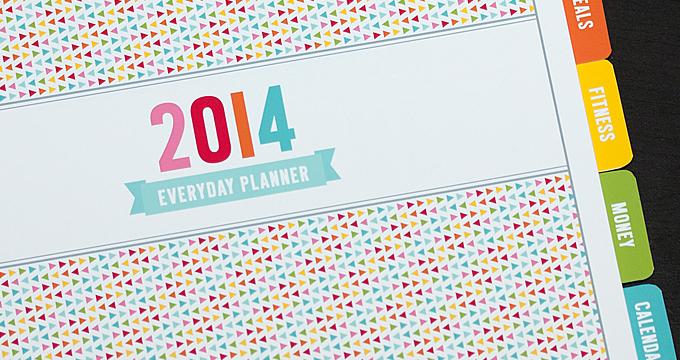 2014 Everyday Planner