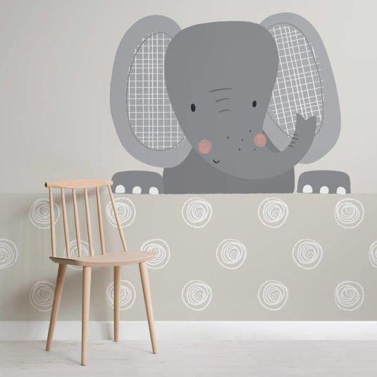 Nursery Wallpaper - Ellie