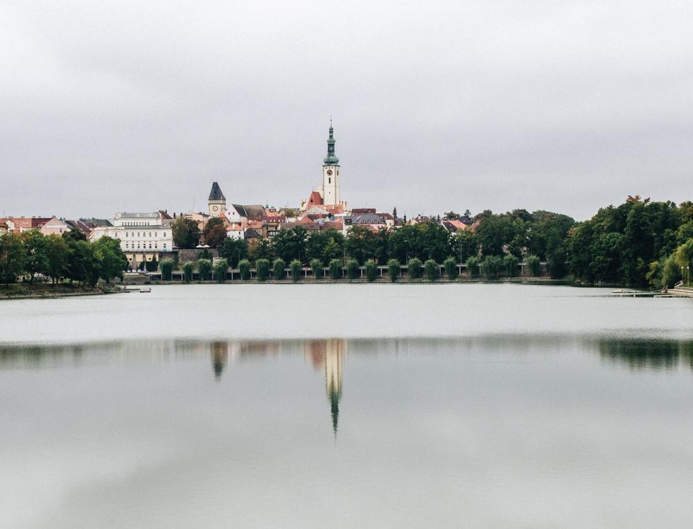 Water reservoir Jordán, Tábor, Czech Republic