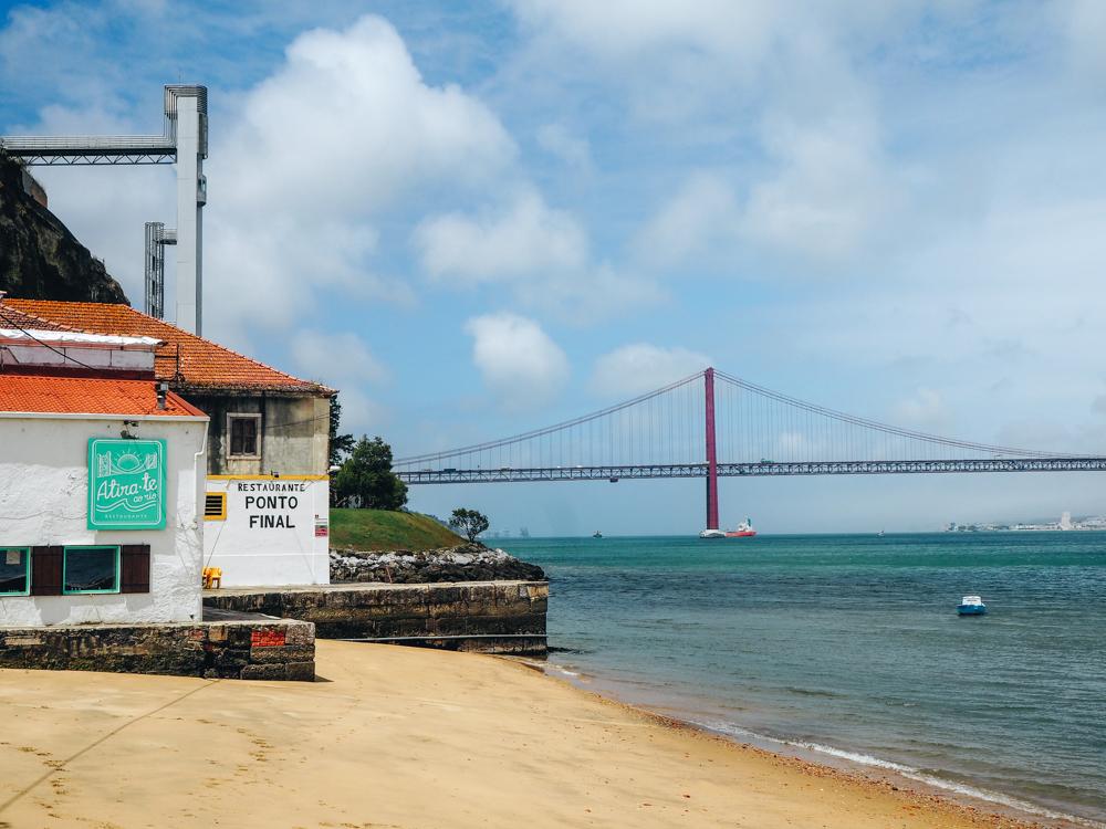 Restaurace Ponto Final, Lisabon