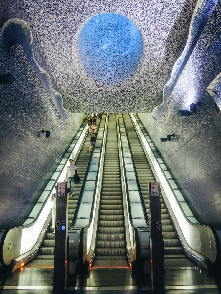 Metro Toledo v Neapoli