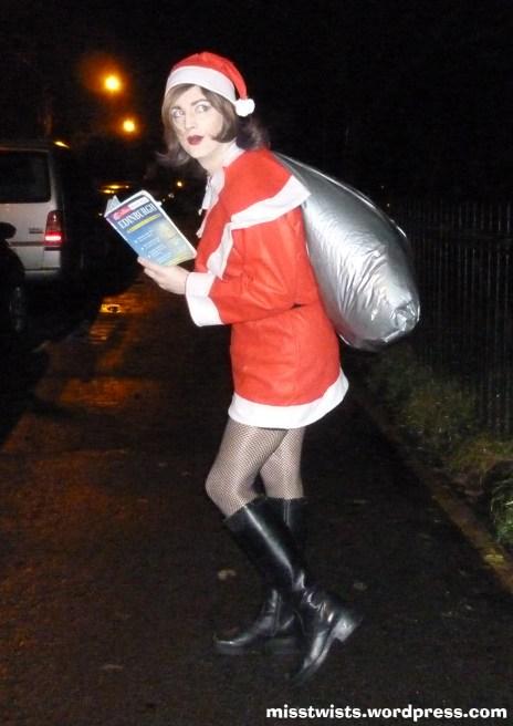 Christmas cross-dressing