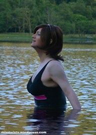 The loch didn't make me cold; I heated it up. Physics, I defy you!