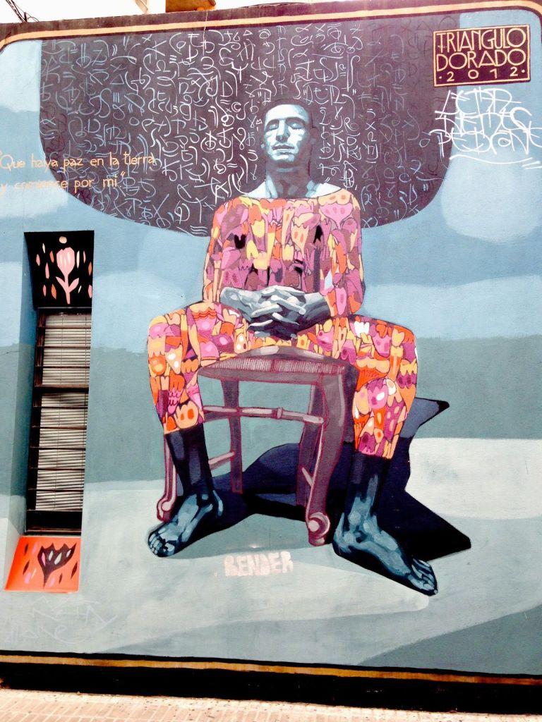 graffiti présents dans le quartier de Palermo Soho, Street Art Buenos Aires 14