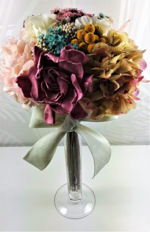 Ramo de flores preservadas Coco Pink