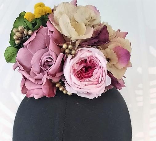 Ramillete flamenca flores preservadas Missun