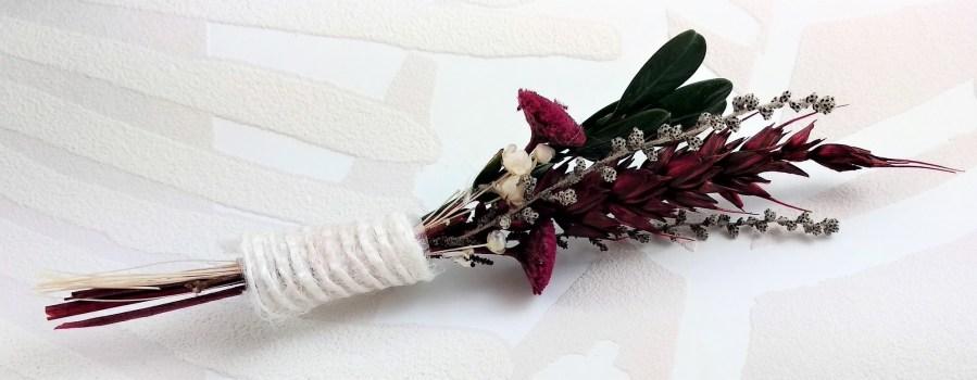 prendido flor preservada