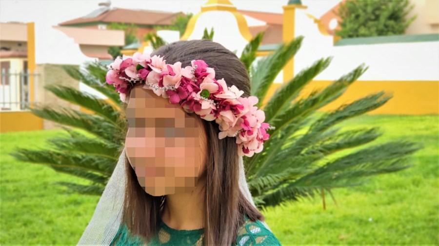 flor preservada corona