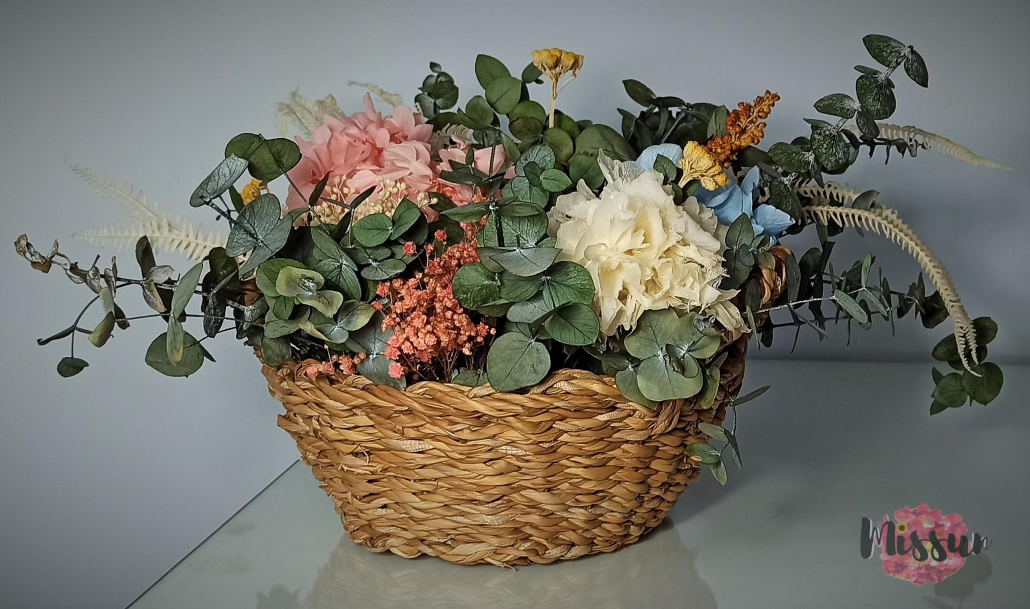 centro francesca flor preservada