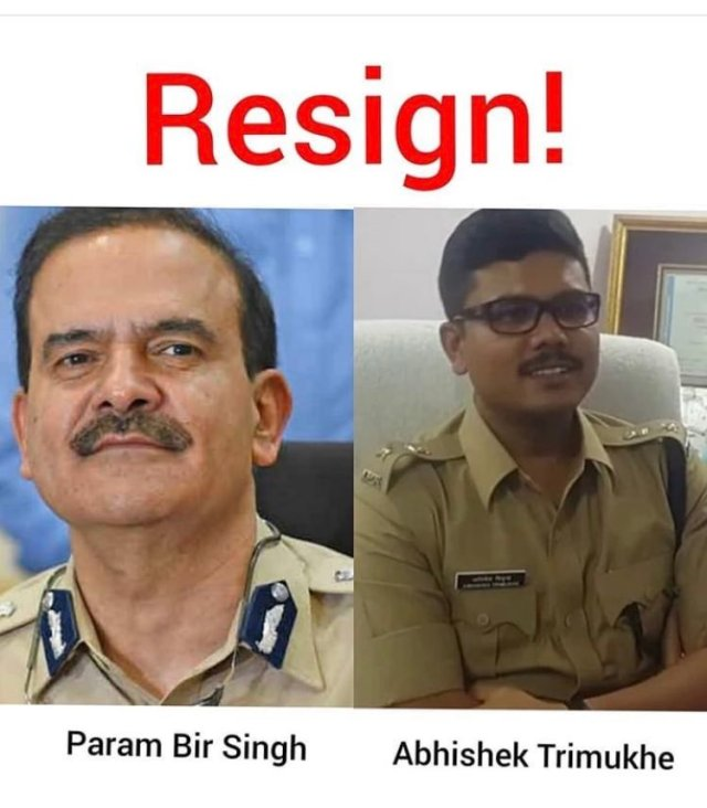 Mumbai Police commissioner should Resign immediately – Here are the Reason @sushantf3 #ResignParambirSingh