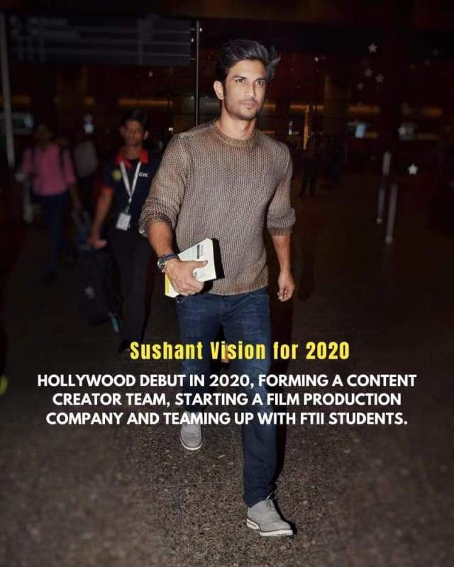 Sushant vision in 2020 – we will take revenge from Police, Politicians and bollywood for sure