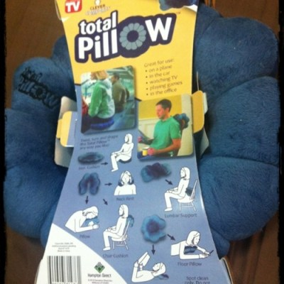HOME: The Versatile Total Pillow