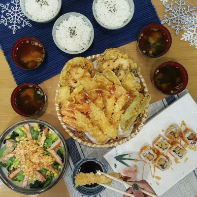 A DREAMY WHITE CHRISTMAS AT TENYA TEMPURA TENDON