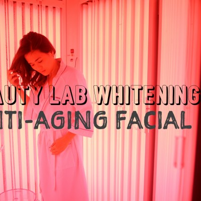 REVIEW: BEAUTY LAB WHITENING ANTI-AGING FACIAL