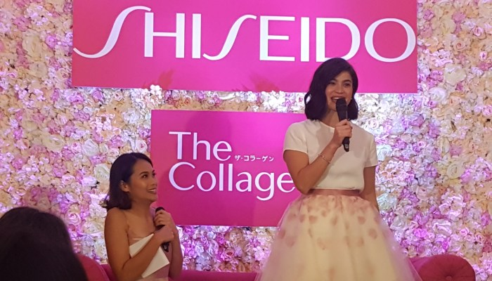 SHISEIDO THE COLLAGEN: ANNE CURTIS' ANTI-AGING SECRET + PRODUCT REVIEW