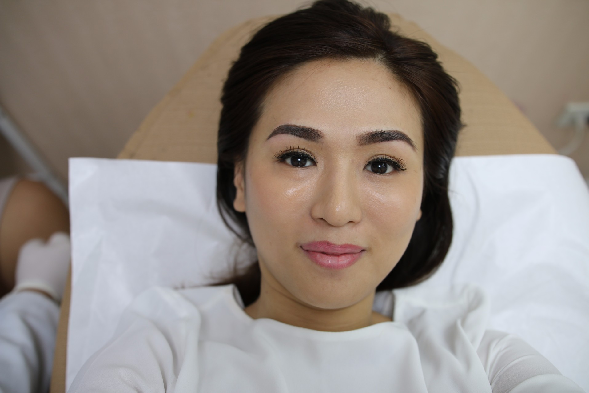 Prettylooks Cashmere Eyebrows Before And After Miss Valerie Tan