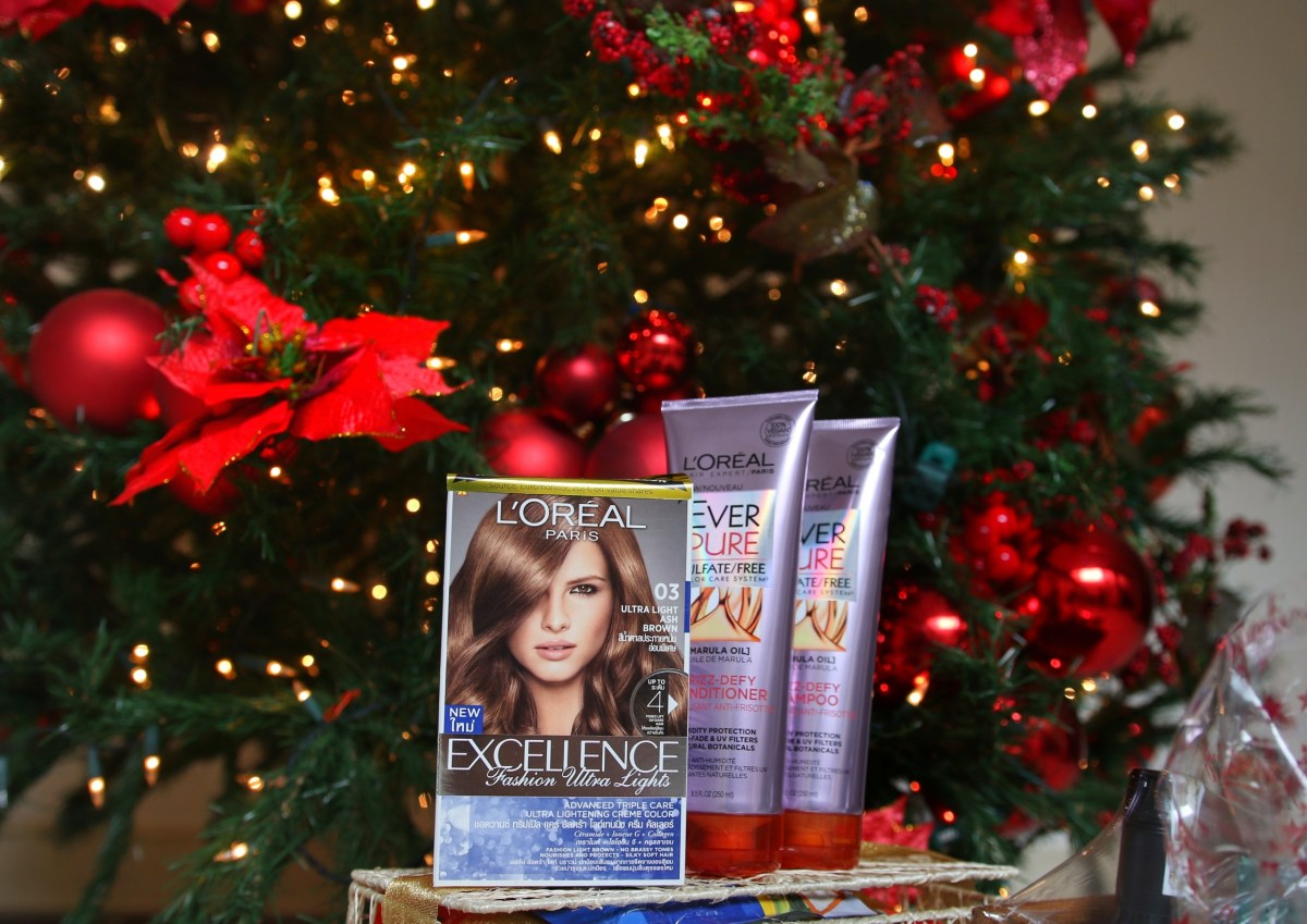 L'OREAL PARIS EXCELLENCE FASHION ULTRA LIGHTS: BE PARTY-READY WITH #ULTRALIGHT HOLIDAY HAIR