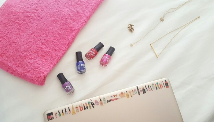 DRESS UP YOUR HOLIDAY OUTFIT WITH ORLY SUNSET STRIP