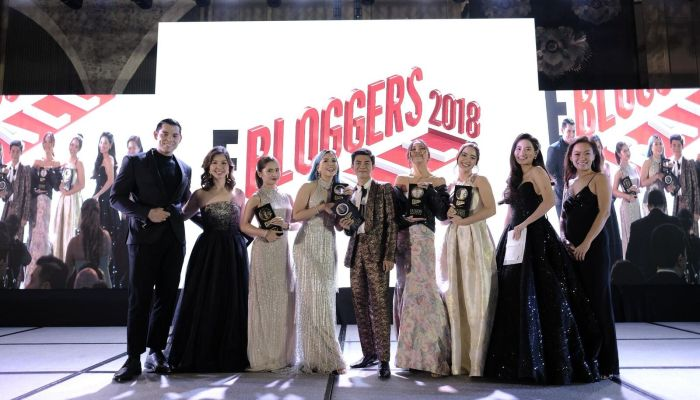 E! BLOGGERS BALL 2018: A CELEBRATION OF SOCIAL PERSONALITIES AT THE THIRD ANNUAL BALL