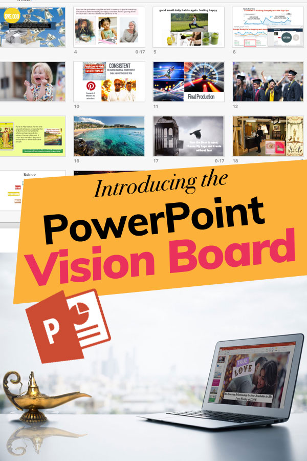 powerpoint vision boards the